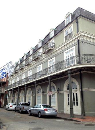 Bourbon Orleans Hotel:                   Hotel exterior