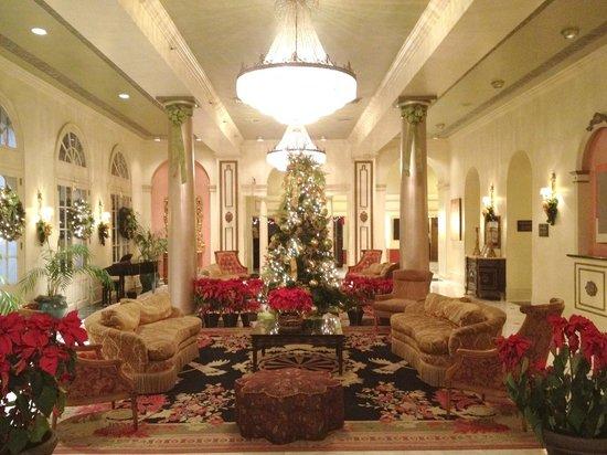 Bourbon Orleans Hotel:                   Hotel lobby