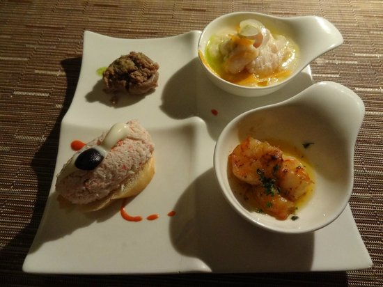 Catalonia Royal Bavaro: tapas food