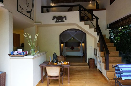 The Villas Bali Hotel & Spa:                   Our private villa