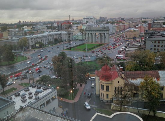 Holiday Inn St. Petersburg Moskovskiye Vorota : A view from the room