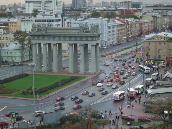 Holiday Inn St. Petersburg Moskovskiye Vorota: A view from the room