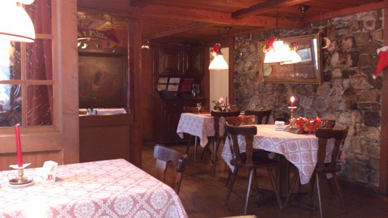 Restaurant Baren: Typical swiss cosiness