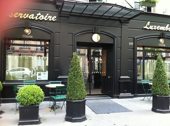 Hotel Observatoire Luxembourg:                   entrance