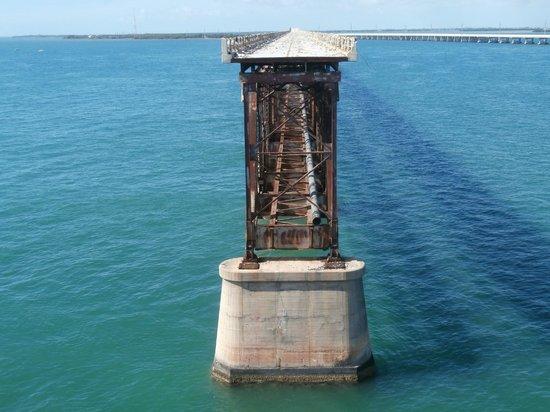 Big Pine Key, Floryda: ponte ferroviario abbandonato
