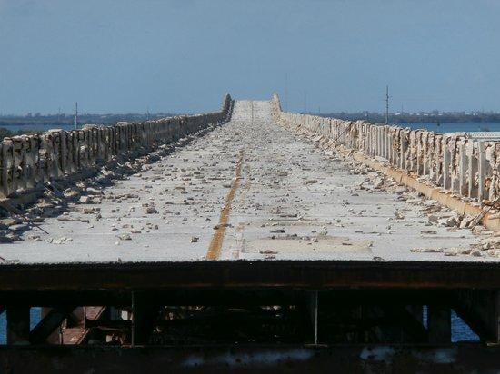 Big Pine Key, FL: ponte ferroviario abbandonato