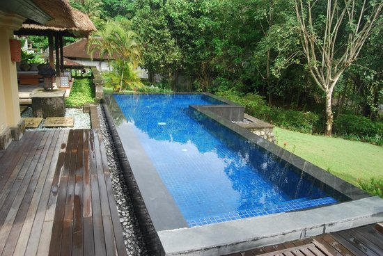 Pan Pacific Nirwana Bali Resort:                   Infinity pool in 1 bedroom villa