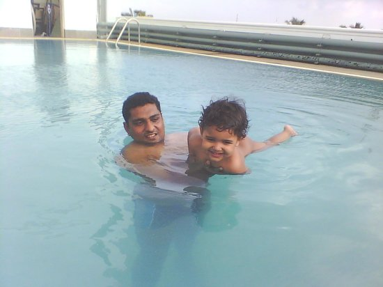Arcadia Regency Hotel Alleppey: pool at 5th floor