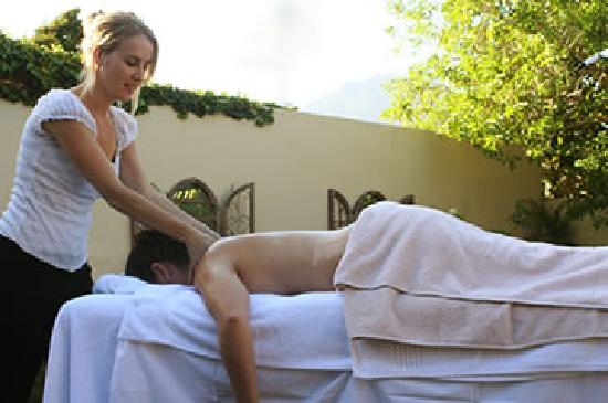 Harfield Guest Villa: Spa Treatments available