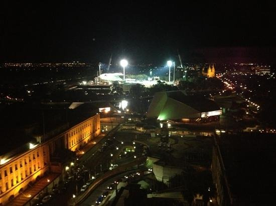 Stamford Plaza Adelaide:                   Nice stay, great view from the 15th floor