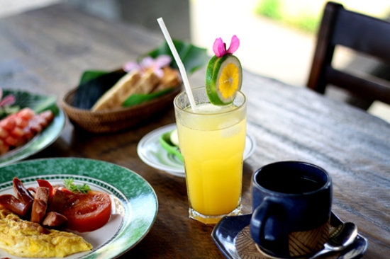 Gusde House & Villa : our breakfast