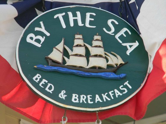 By The Sea Bed and Breakfast: you know you arrived