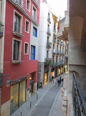 Hostal Levante: View from the balcony