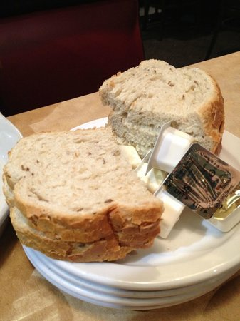 TooJay's: Soft,Doughy,Thick, not real Jewish Rye Bread