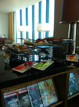 InterContinental San Francisco: Some Club Fare
