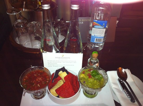 InterContinental San Francisco: Little Things 2. In room Mexican Night