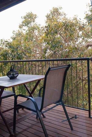 HideAway Haven: Breakfast on the Deck