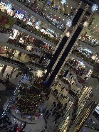 Istanbul Cevahir Mall: 8 floors