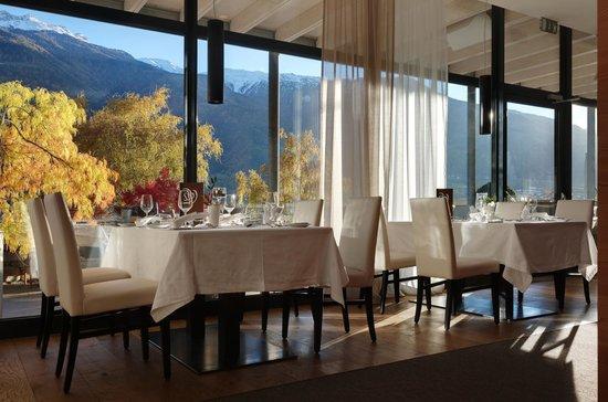 Style & Spa Resort Lindenhof : traumhafter Ausblick auf den Vinschgau