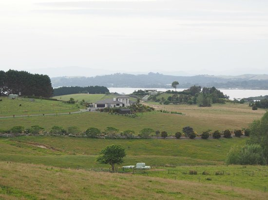 Swallows Ridge:                   From the road with Bay of Islands in the distance