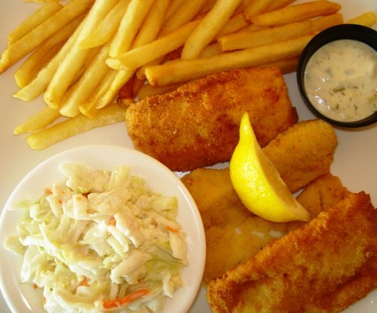 The Cottage Bar and Gulfshore Grill: Fish