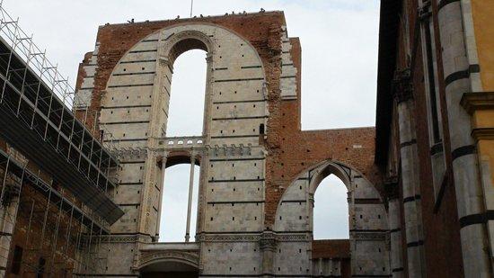 Museo dell'Opera Metropolitana: il 'Facciatone'...