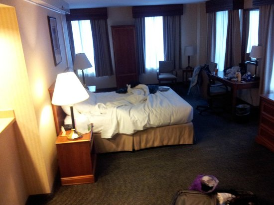 Inn of Chicago:                   Our 10th floor room