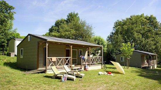 Camping Les Terrasses du Perigord : Chalets 3 Chambres