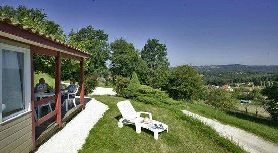 Camping Les Terrasses du Perigord : Chalets 2 Chambres Panoramique