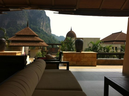 Aonang Cliff Beach Resort:                   View from reception!