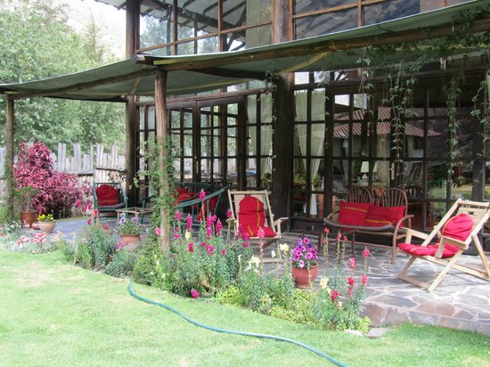 The Green House Peru:                   The terrace where life is enjoyed