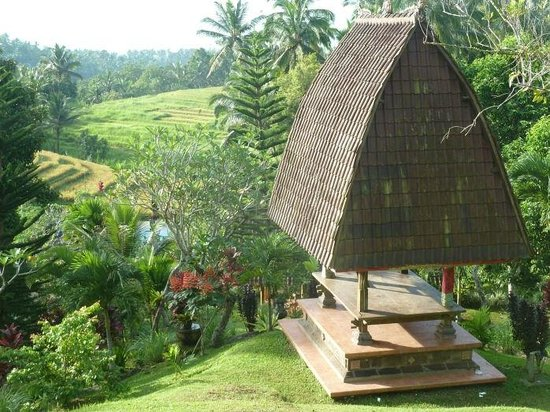 Pupuan, Indonesia: Jardins