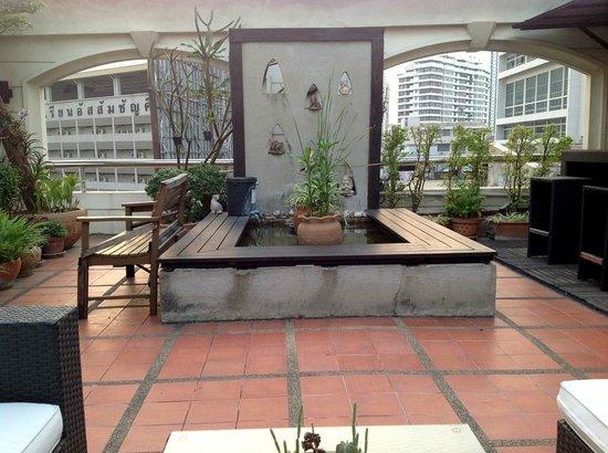 Silk Suite Hotel: Roof garden