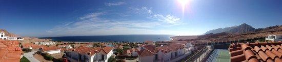 Ecotel Dahab Bay View Resort:                   панорама из номера