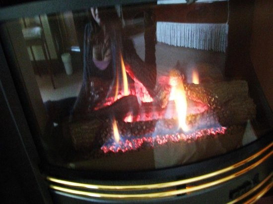 Windradyne Boutique : Bedroom fireplace