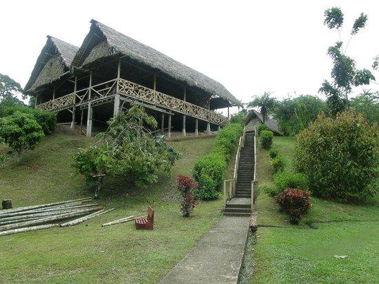 Yarina Eco Lodge: Arrivée à Yarina