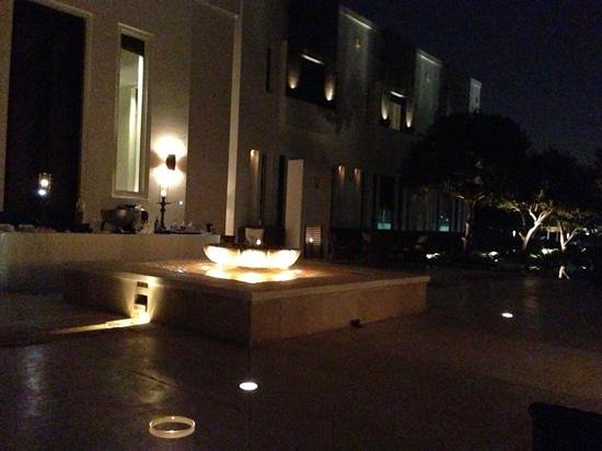 The Chedi Muscat – a GHM hotel: club house per aperitivo