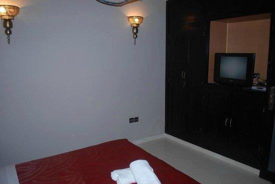 Riad Akiba : chambre