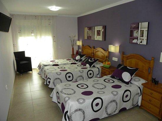 Hotel Noguera : Habitación Triple