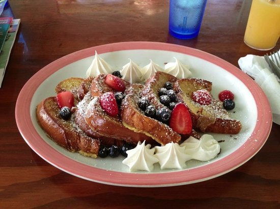 Southernmost Beach Cafe:                   Delicious French toast