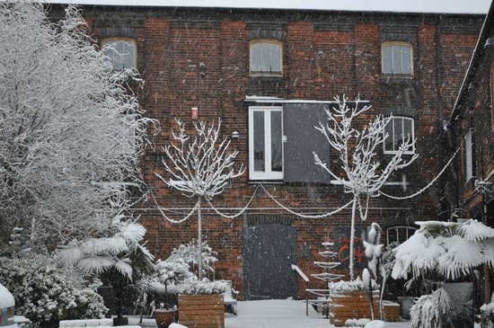Fisherton Mill: One snowy morning!