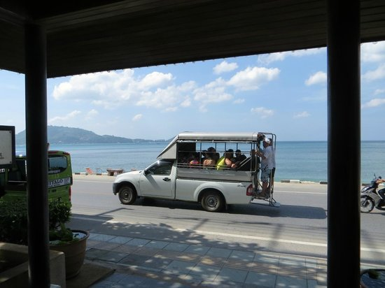 S B R Free Shuttle Bus To Patong Picture Of Sunset Beach