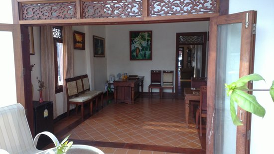 Arissara House:                   Back room next to pool