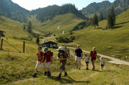 Traunbachhaeusl: Wandern