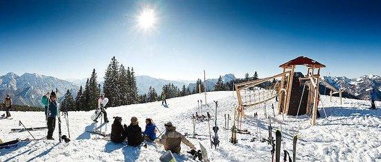 Traunbachhaeusl: Skigebiet Unternberg