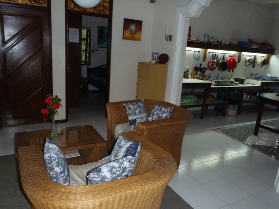 Sudanita Homestay : binnen