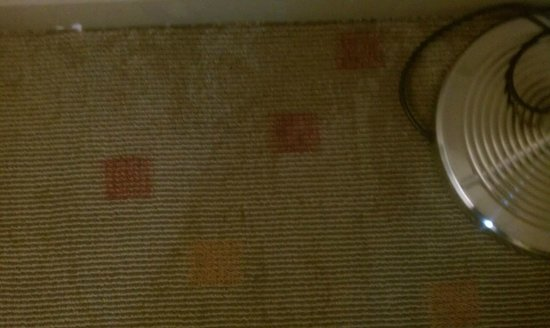Citadines Biyun Shanghai:                   Additional large carpet stains