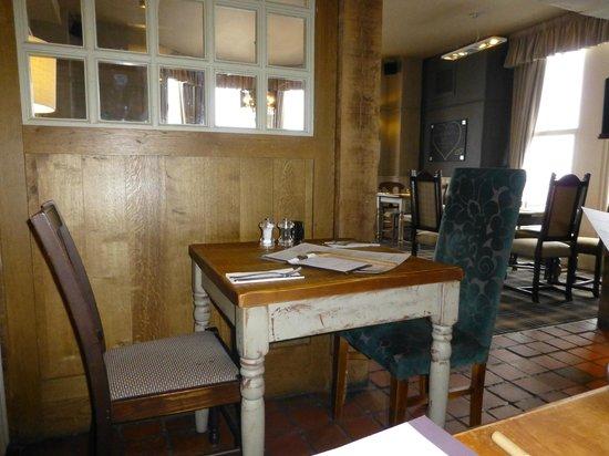 Cow and Calf Country Pub & Restaurant:                                     snug area....