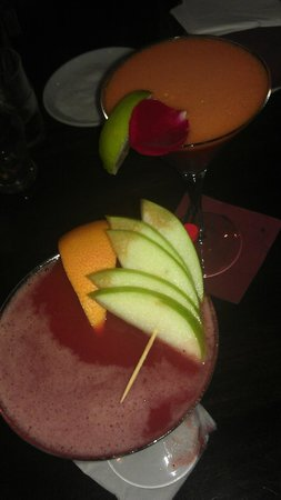 Hemingway: campari & aperol new cocktails...LOVE THEM !!!