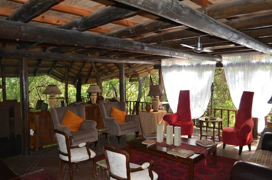 Maqueda Lodge:                   Open plan